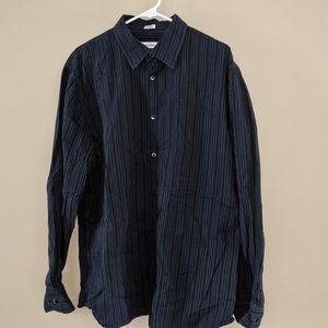Calvin Klein Men's XL Striped Button Down